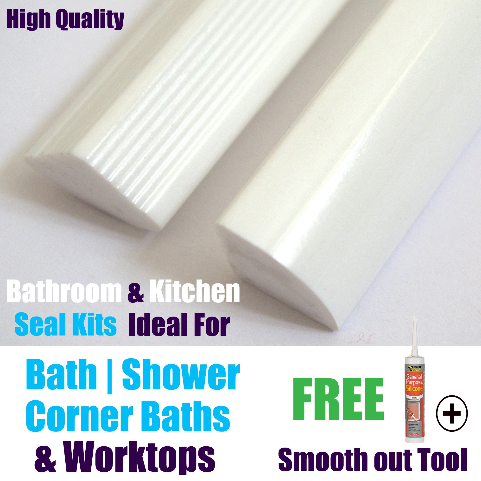 new solid bath corner bath shower worktop seal strips. Black Bedroom Furniture Sets. Home Design Ideas