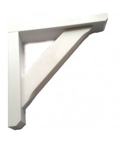 Gallow / Porch Brackets / Bay Window  300x300x60 White Will Not Rot New