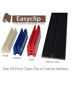 replacement clip set for 38mm thresholds easyclip