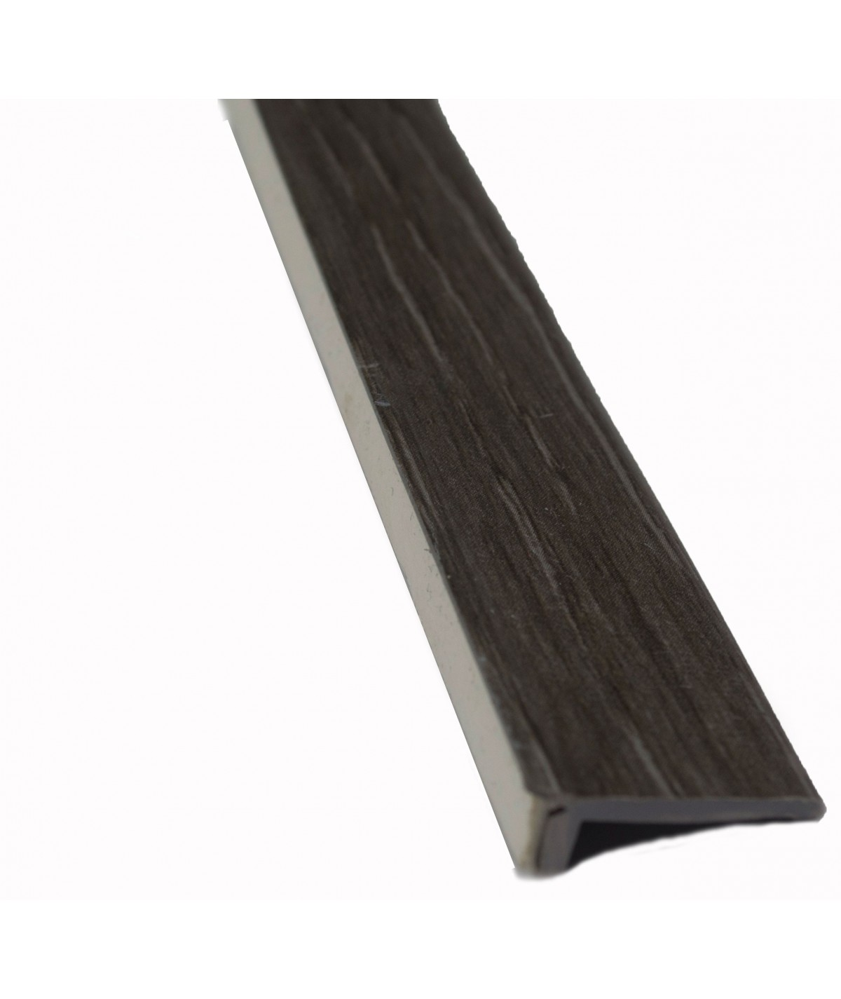 Dark Grey Floor Edge Adhesive Trim 5 x 2Mtr Lengths Bridge Gap Between Floor and Skirting 10mtrs