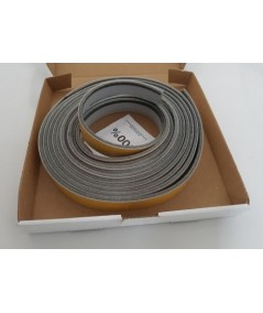 Grey  Self Adhesive Surface Mounted Intumescent Strip with Brush, 5.2m BS476 P22