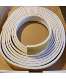 White Self Adhesive Surface Mounted Intumescent Strip with Brush, 5.2m BS476 P22
