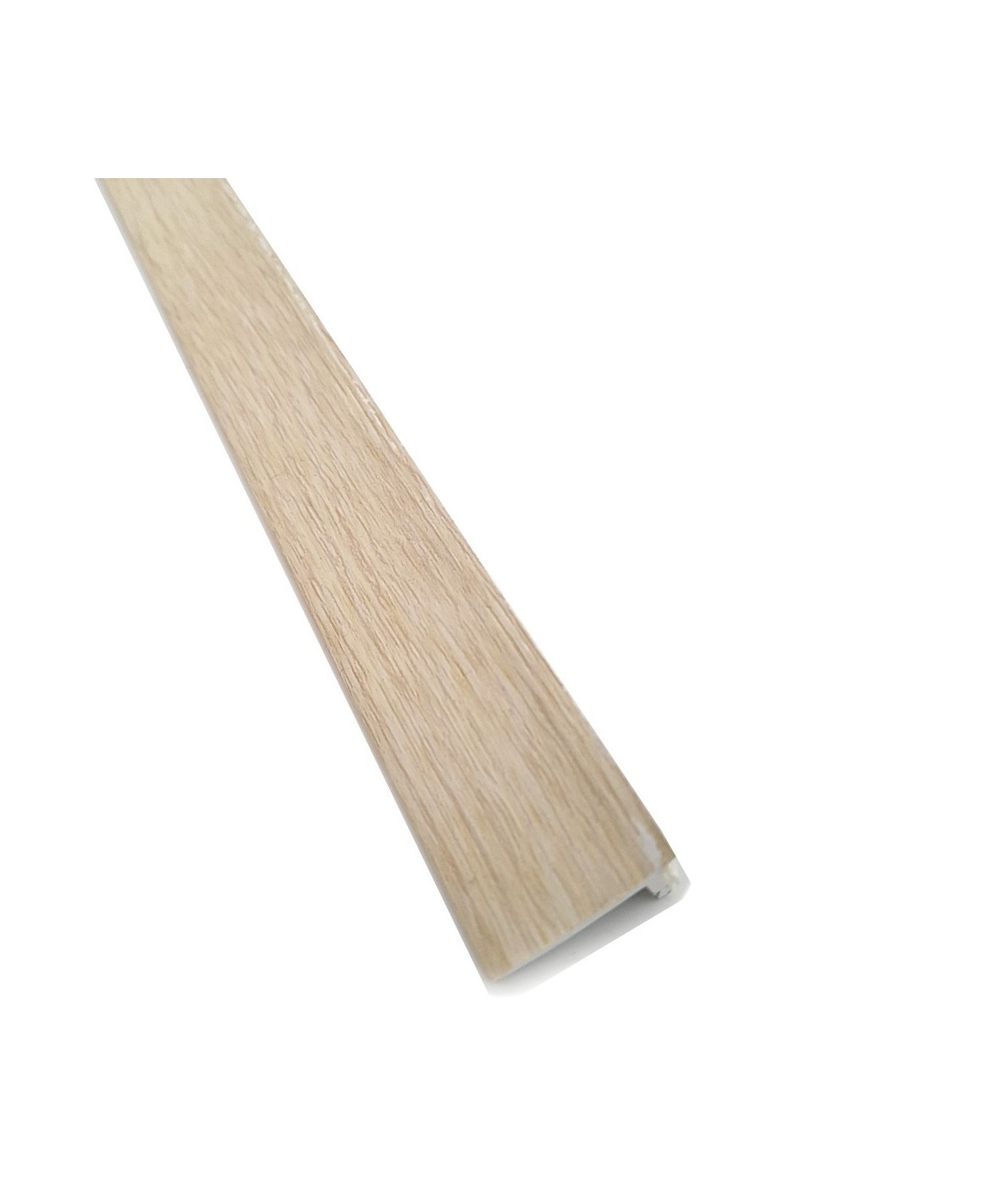 Cream White Oak Floor Edge Adhesive Trim 10 x 2Mtr Lengths Bridge Gap Between Floor and Skirting