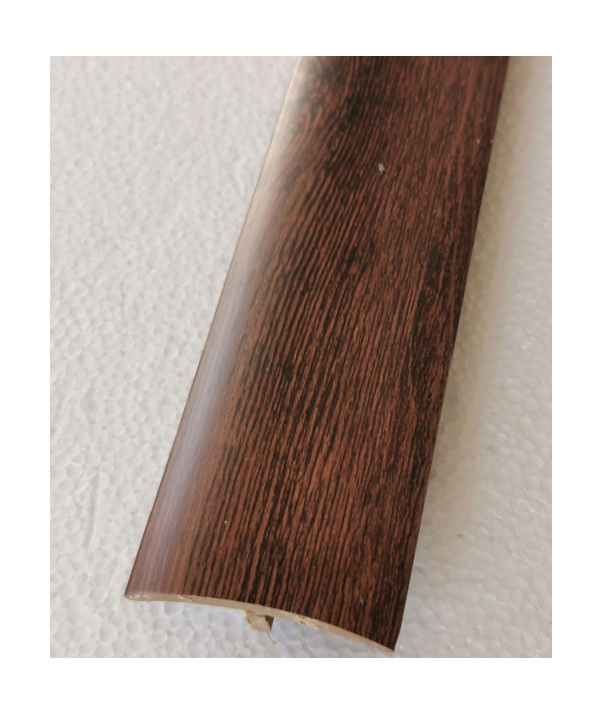 Red Hickory Adhesive Laminate Door Threshold Strip 38mm x 90cm Multi-Height/Pivots