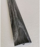 Dark Silver Grey Adhesive Laminate Door Threshold Strip 38mm x 90cm Multi-Height/Pivots