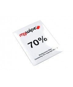 MYWIPE 70% Alcohol Wipes Sachets Large 185mm x 145mm Pack QTY 50