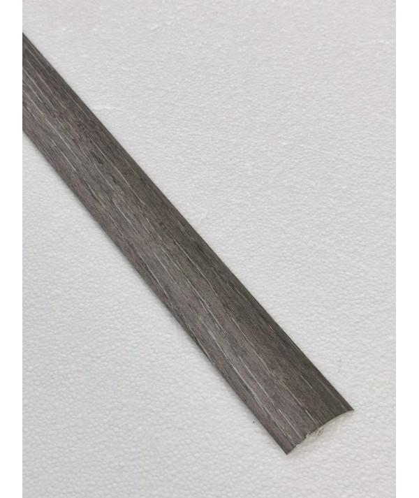 Silver Grey Adhesive Laminated Door Threshold Strip 38mm x 90cm Multi-Height/Pivots