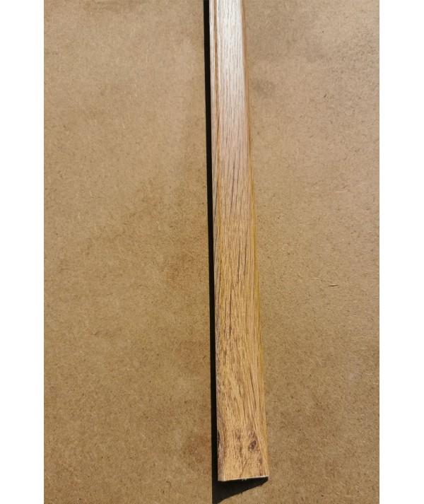 Brown Oak Adhesive Floor Edge Trim 10 x 2mtr Bridge Gap Between Floor /& Skirting