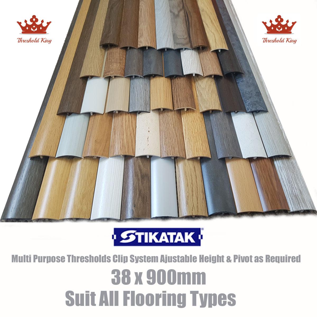 New Stikatak Threshold Strip 38x900mm Multi Purpose